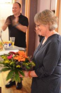 und PGR-Vorsitzende Christine Klaus.