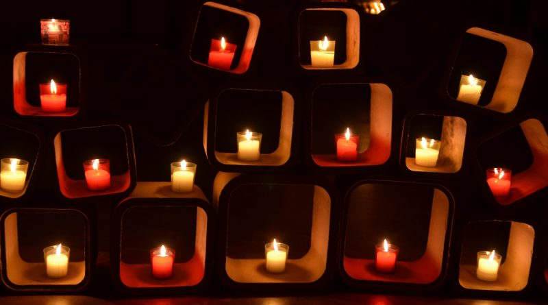 Ein Lichtermeer wie in Taizé